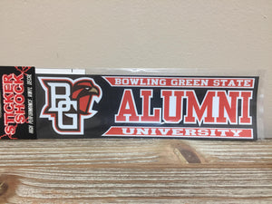 BG Falcon Alumni Decal 3X10