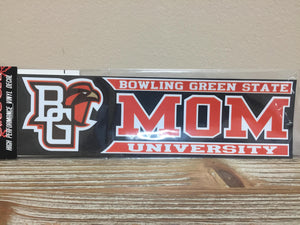 BG Falcon Mom Decal 3X10