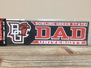 BG Falcon Dad Decal 3X10