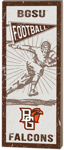 Kindred Heart Vintage Football 7X18.5