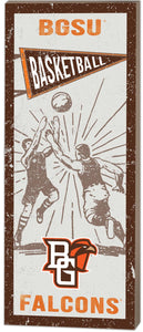 Kindred Heart Vintage Basketball 7X18.5