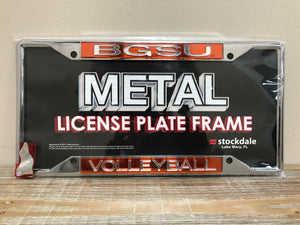 BGSU Volleyball License Plate Frame