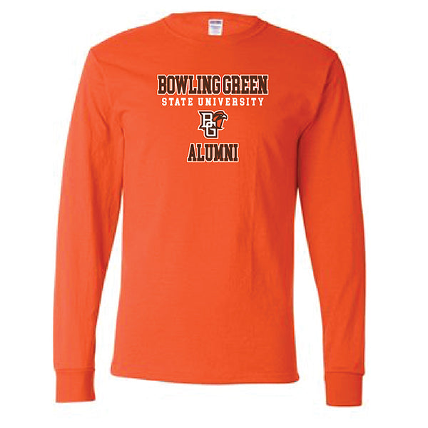 Jupmode Orange Alumni LS Tee