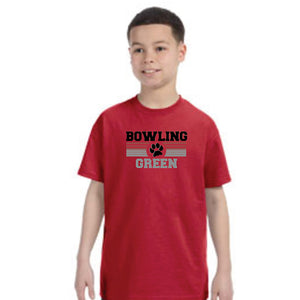 Jupmode Bobcat Youth Red SS Tee