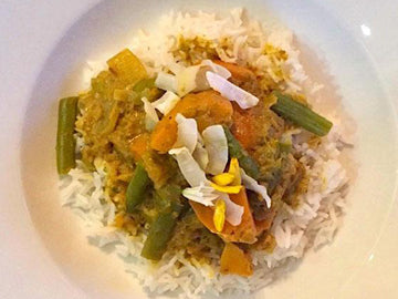 Sweet Potato & Green Bean Curry