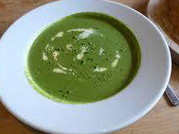 Spinach, Leek & Rosemary Soup