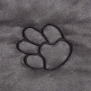 Paw Print Hammock Style Seat Cover