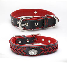 SMALL DOG Royalty Crown Leather Collection(LC001)