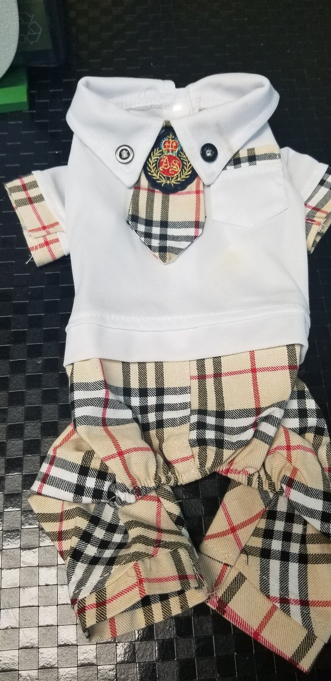Plaid School 4 Legged(CL010)