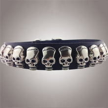 SMALL DOG Skull Collars
