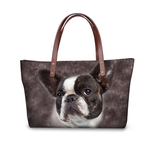Brindle French Bulldog Shoulder bag(DS002)
