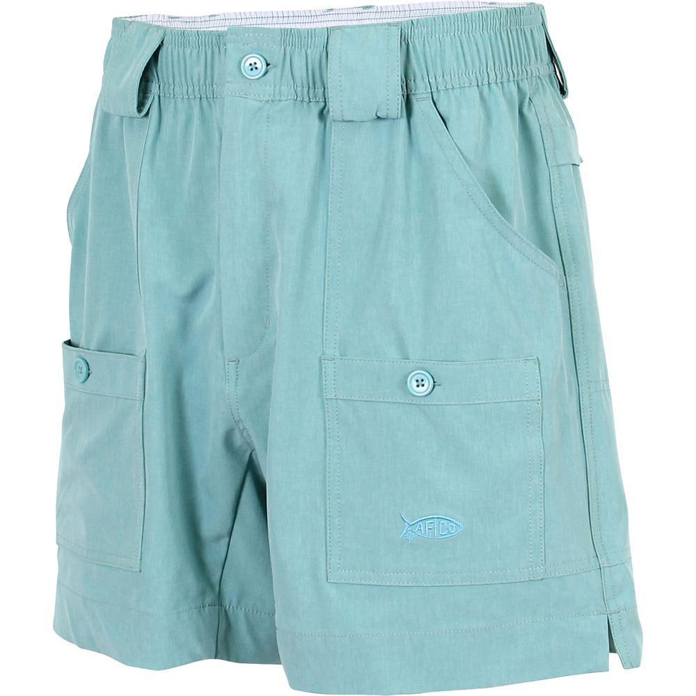 AFTCO MFG Men's Shorts Aftco Stretch Original Fishing Shorts - Bahama Heather | David's