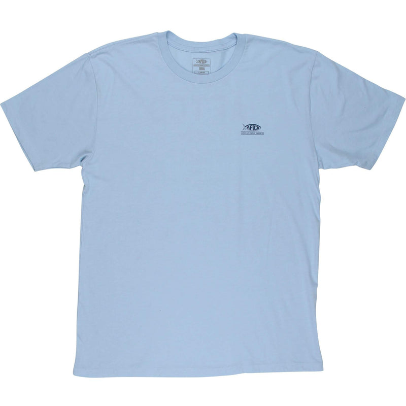 AFTCO MFG Men's Tees Aftco Release SS T-Shirt || David's Clothing