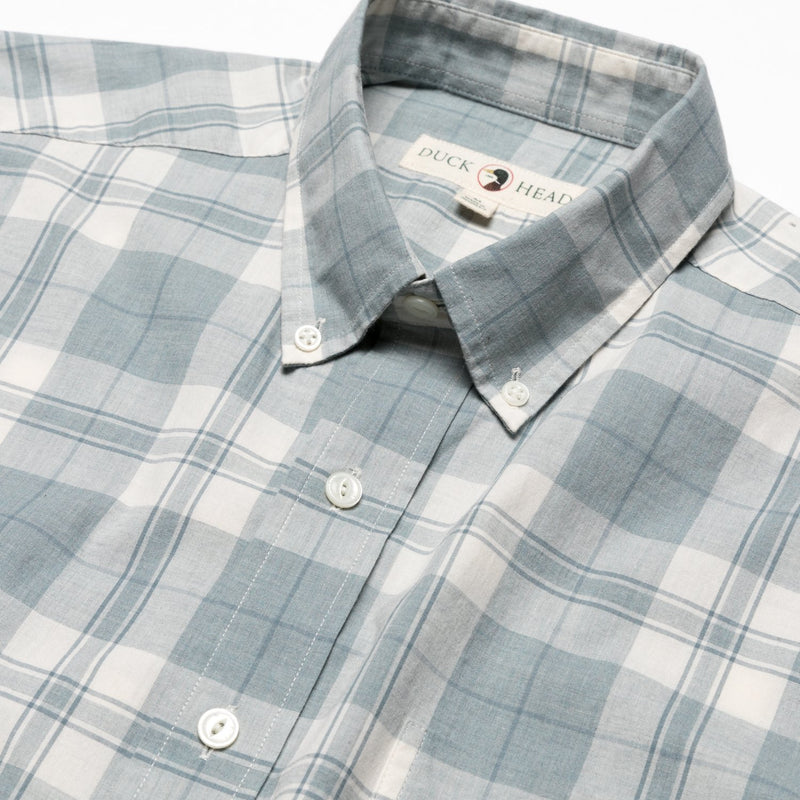 DUCK HEAD Men's Sport Shirt Duck Head Seabrook Plaid Button-Down || David's Clothing