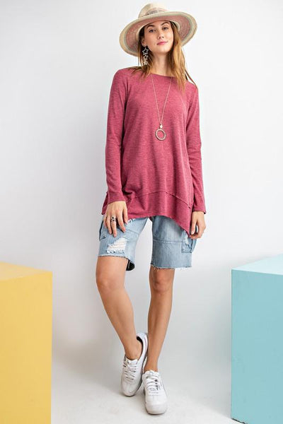 EASEL 21-Women's Knit Top