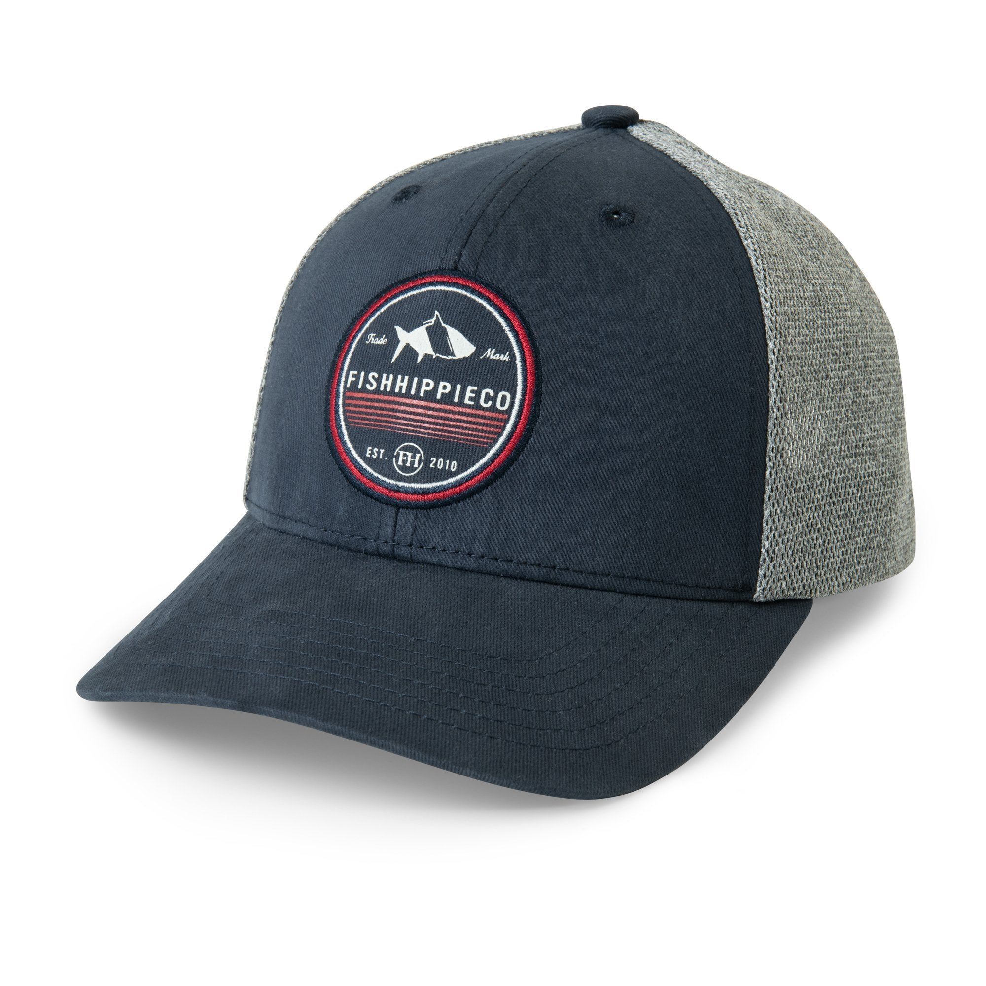 FISH HIPPIE Men's Hats NAVY / one size Fish Hippie Motion Granted Trucker Hat || David's Clothing FHH5040