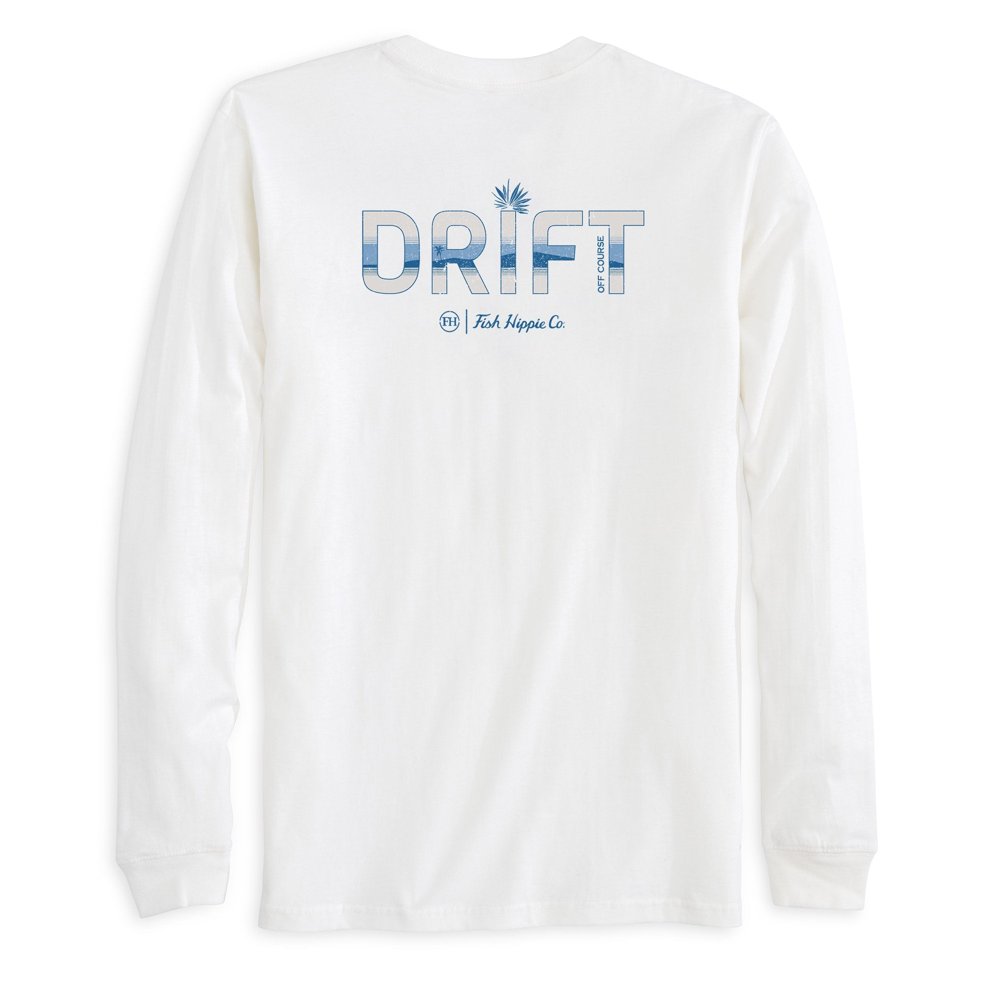 FISH HIPPIE Men's Tees Fish Hippie Off Course Long Sleeve T-Shirt || David's Clothing