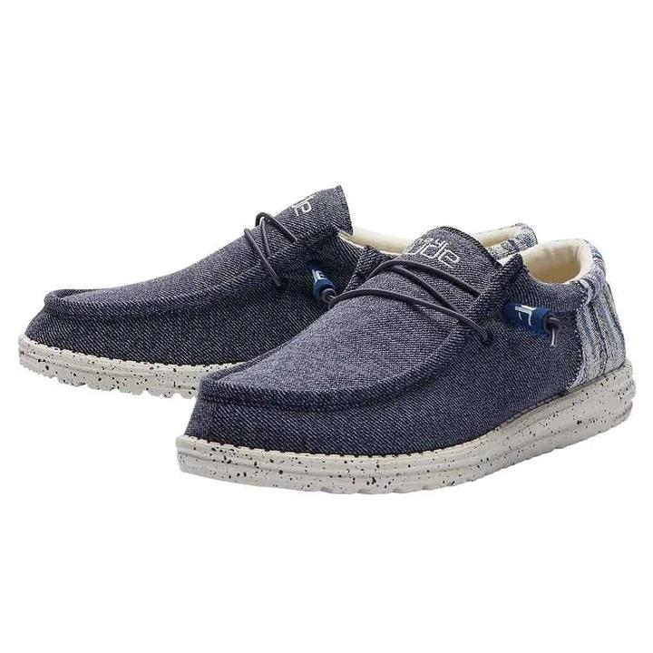 HEY DUDE Men's Shoes Hey Dude Wally Funk - Galaxy Blue || David's Clothing