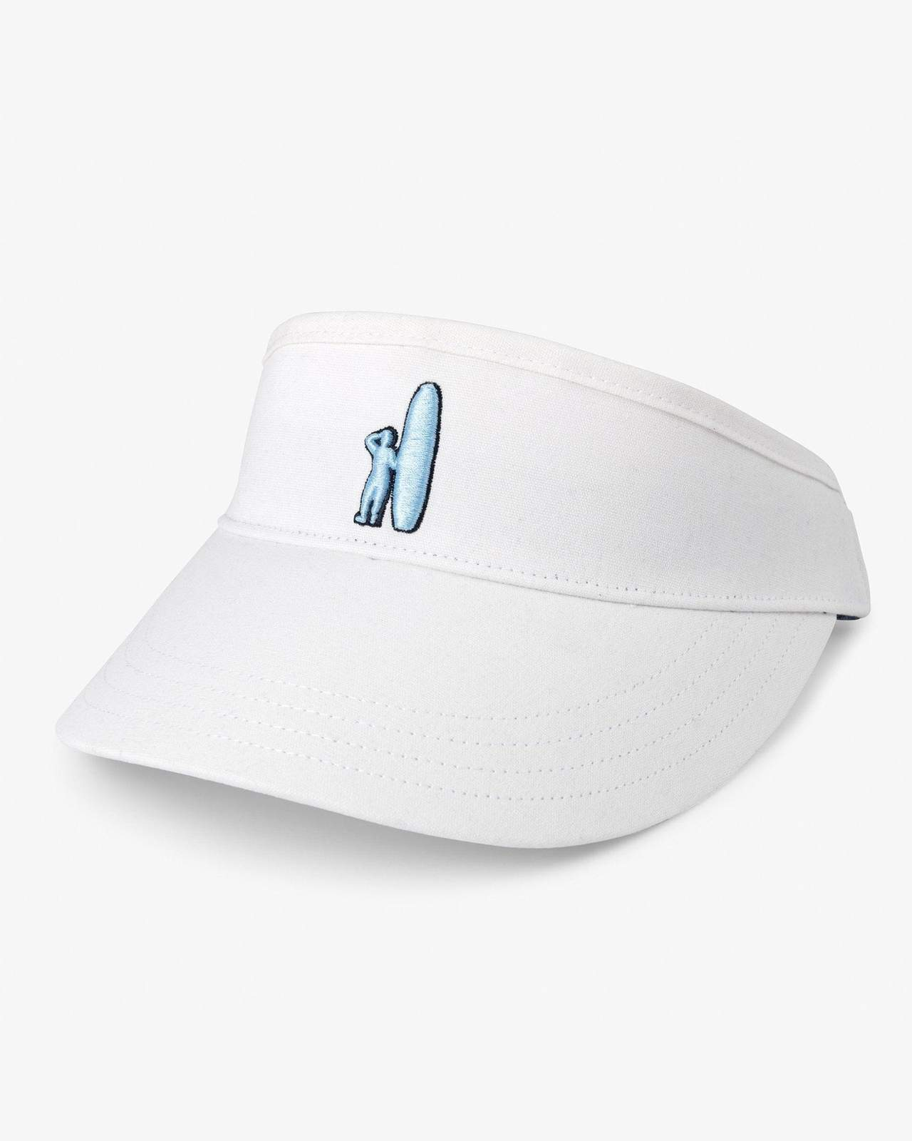 JOHNNIE O Men's Hats WHITE / one size Johnnie-O Chevy Visor || David's Clothing JMHT1740W