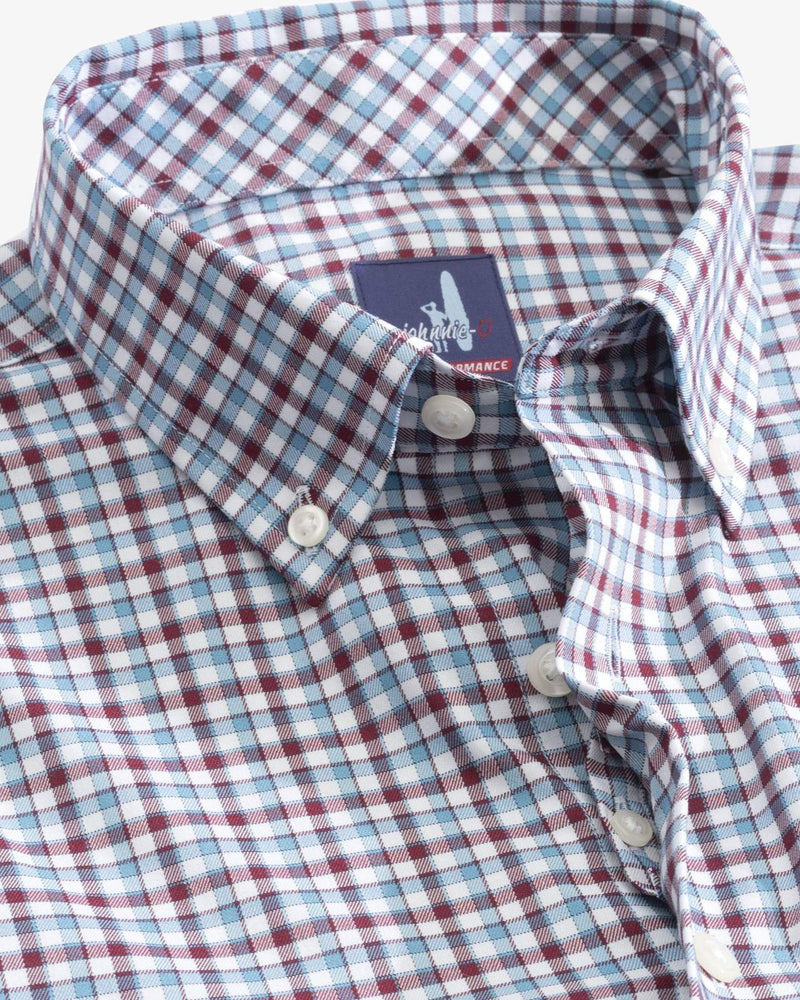 JOHNNIE O Men's Sport Shirt Johnnie-O Redmond PREP-FORMANCE Button Down Shirt || David's Clothing
