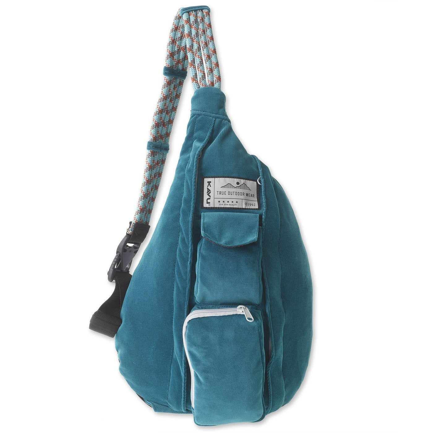 Kavu Back Packs ARTIC TEAL / one size Kavu Rope Cord Back Pack - Arctic Teal || David's Clothing 92191068