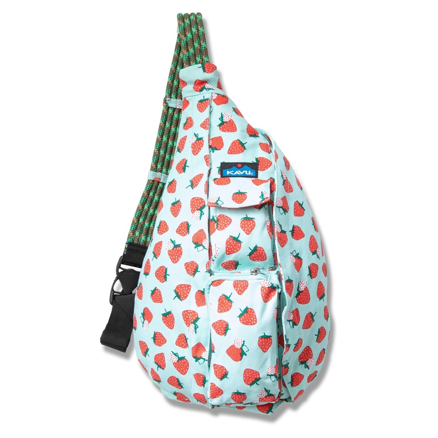 KAVU Back Packs STRAWBERRY PATCH KAVU Rope Bag Back Pack || David's Clothing 923-1402