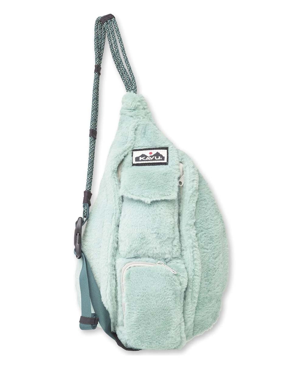 KAVU Back Packs WINTERGREEN KAVU Mini Rope Fuzz || David's Clothing 92141276