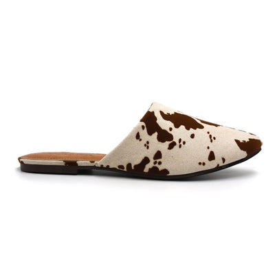 OLEM Women's Shoes Kenny Cow Mule Slide || David's Clothing