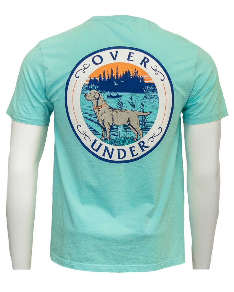 OVER UNDER CLOTHING Men's Tees Over Under Lake Lab Tee || David's Clothing