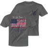 OVER UNDER CLOTHING Men's Tees Over Under S/S Right to Bear Arms T-Shirt Grey || David's Clothing