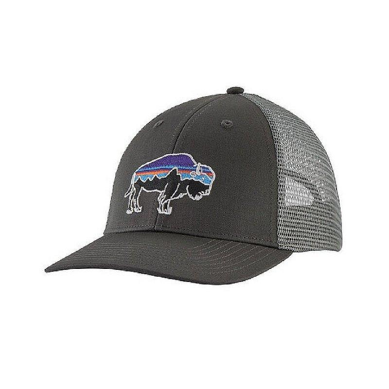 PATAGONIA Men's Hats FORGE GREY / one size Patagonia Fitz Roy Bison LoPro Trucker Hat || David's Clothing 38281FGE