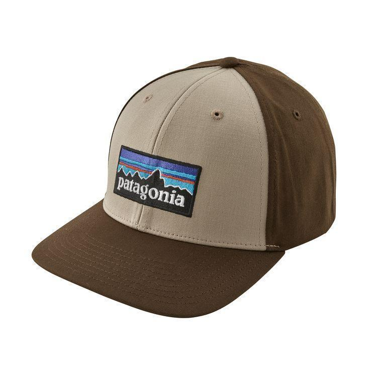PATAGONIA Men's Hats one size / Black Patagonia P-6 Logo Roger That Hat || David's Clothing 38132