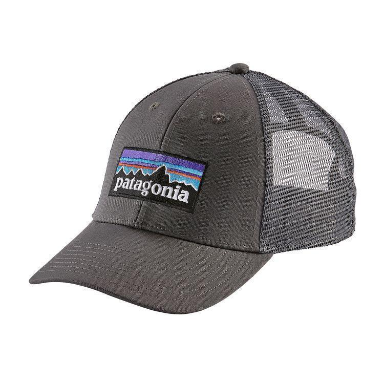 PATAGONIA Men's Hats one size / Forge Grey Patagonia Men's P-6 LoPro Trucker Hat || David's Clothing 38016