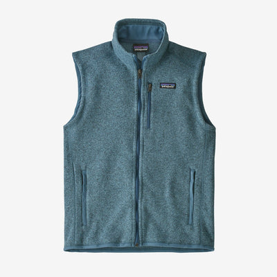 PATAGONIA Men's Outerwear PIGEON BLUE / S Patagonia Men's Better Sweater Fleece Vest || David's Clothing  25882PGBE