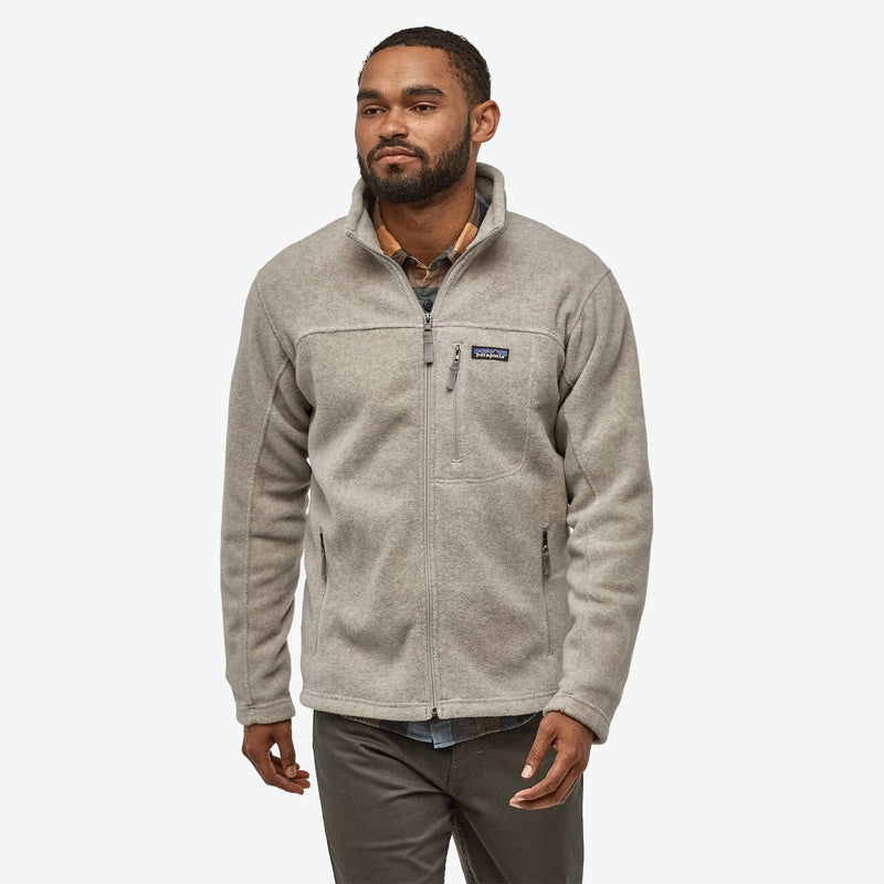 PATAGONIA Men's Pullover OATMEAL / M Patagonia Men's Classic Synchilla Fleece Jacket || David's Clothing 22990OAT