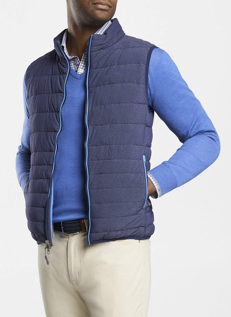 PETER MILLAR Men's Outerwear Peter Millar Crown Elite Light Vest || David's Clothing