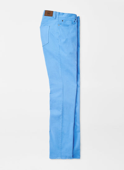 PETER MILLAR Men's Pants LAKE BLUE / 34 Peter Millar Ultimate Sateen Five-Pocket Pant || David's Clothing MS20B39LAKEB