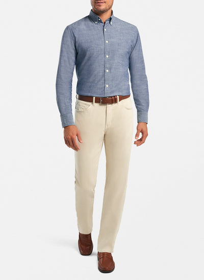 PETER MILLAR Men's Pants Peter Millar Ultimate Sateen Five-Pocket Pant || David's Clothing