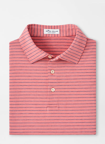 PETER MILLAR Men's Polo CHILI RED / S Peter Millar Crafty Performance Polo || David's Clothing MF20EK09SCR