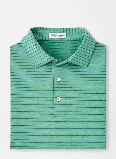 PETER MILLAR Men's Polo FIELD GREEN / M Peter Millar Crafty Performance Polo || David's Clothing MF20EK09SFG
