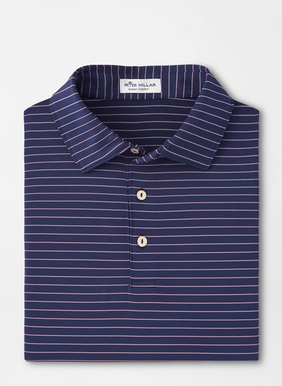 PETER MILLAR Men's Polo NAVY / M Peter Millar Crafty Performance Polo || David's Clothing MF20EK15SN
