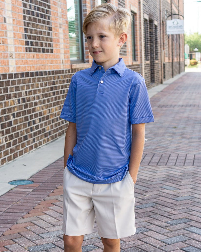 PETER MILLAR Men's Polo Peter Millar Youth Jubilee Performance Polo || David's Clothing
