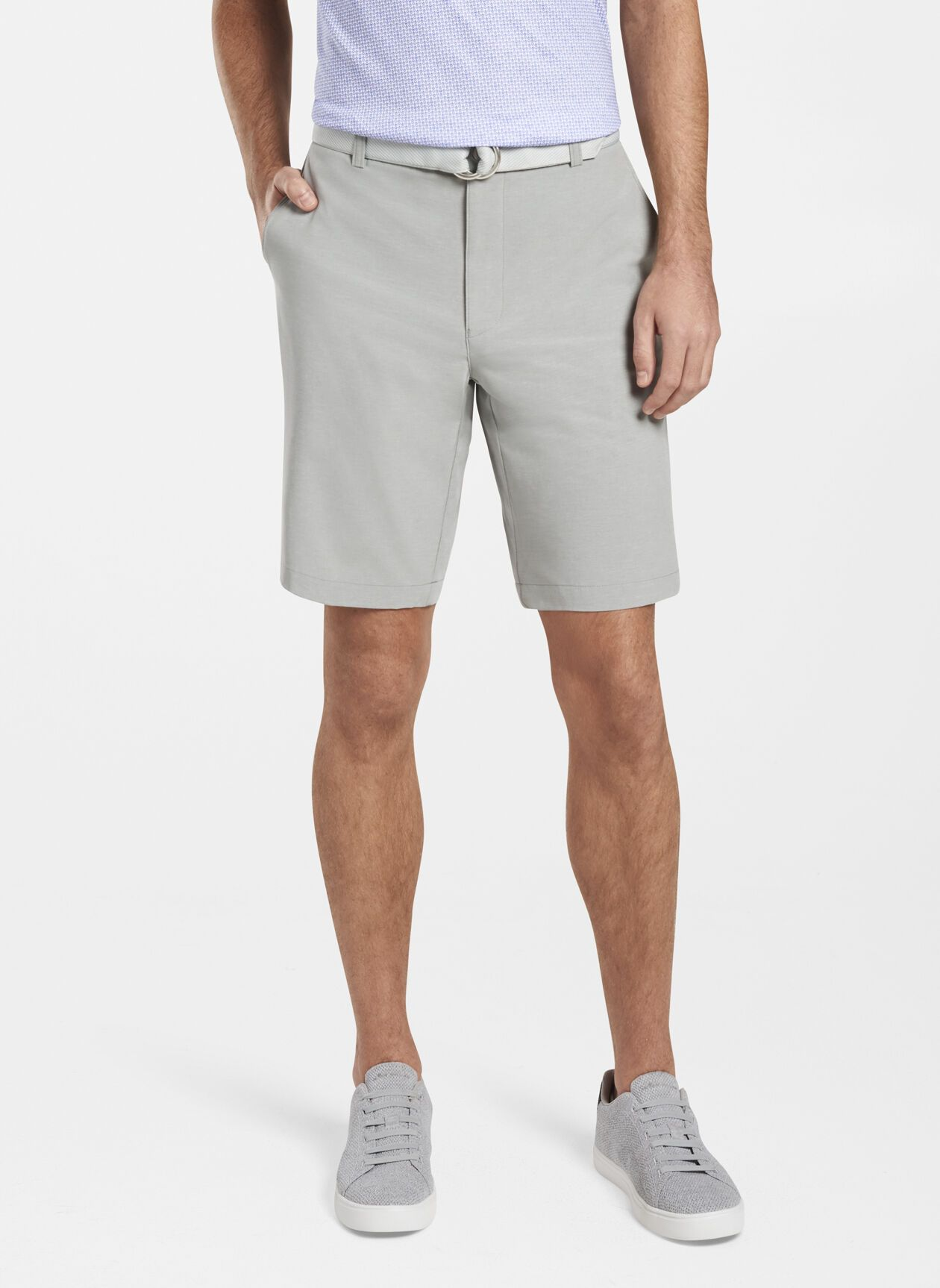 PETER MILLAR Men's Shorts Peter Millar Shackleford Performance Hybrid Short || David's Clothing