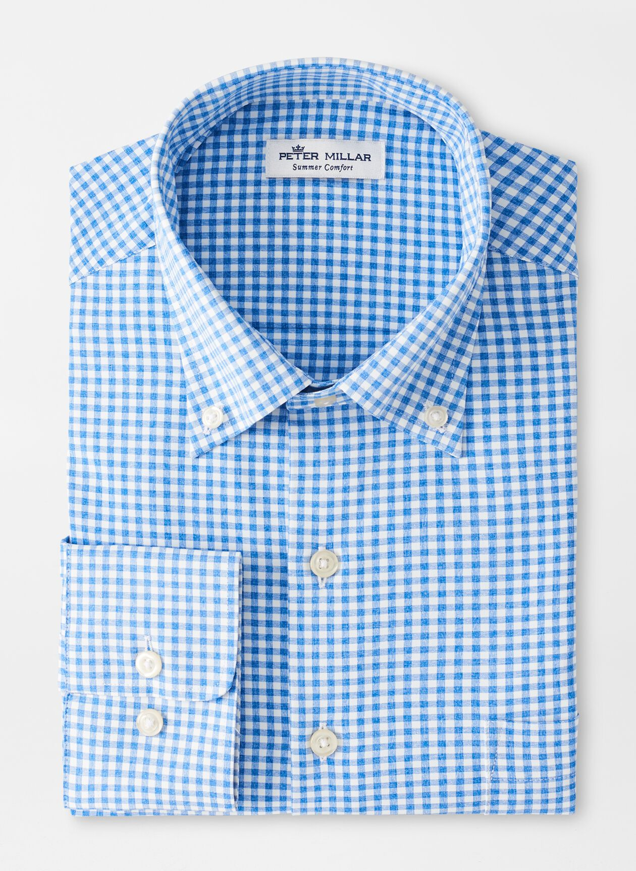 PETER MILLAR Men's Sport Shirt Peter Millar Willie Performance Sport Shirt || David's Clothing