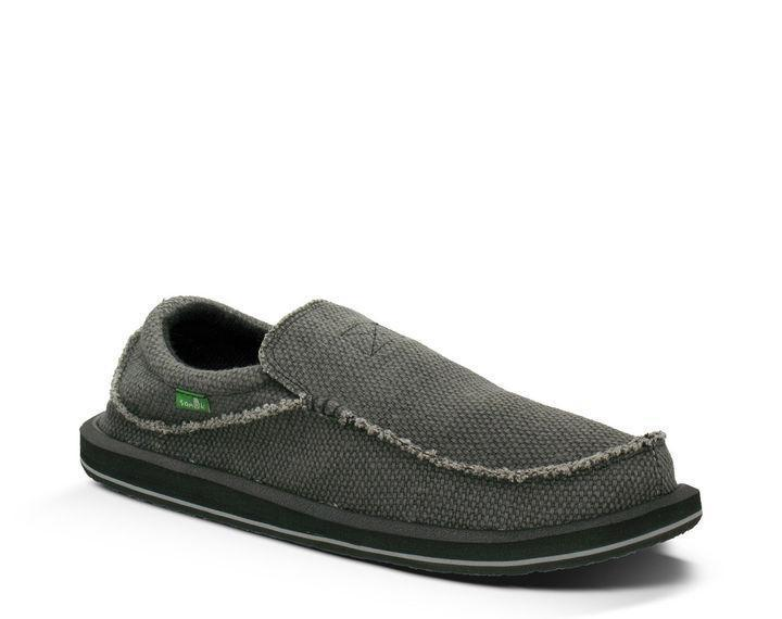 SANUK Men's Shoes Sanuk Men's Sidewalk Surfers Chiba - Black || David's Clothing
