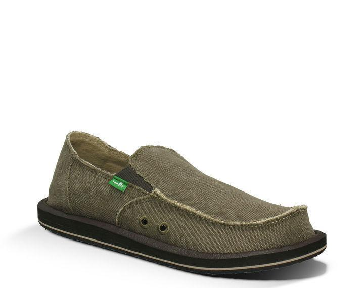 SANUK Men's Shoes Sanuk Men's Sidewalk Surfers - Vagabown - Brown || David's Clothing