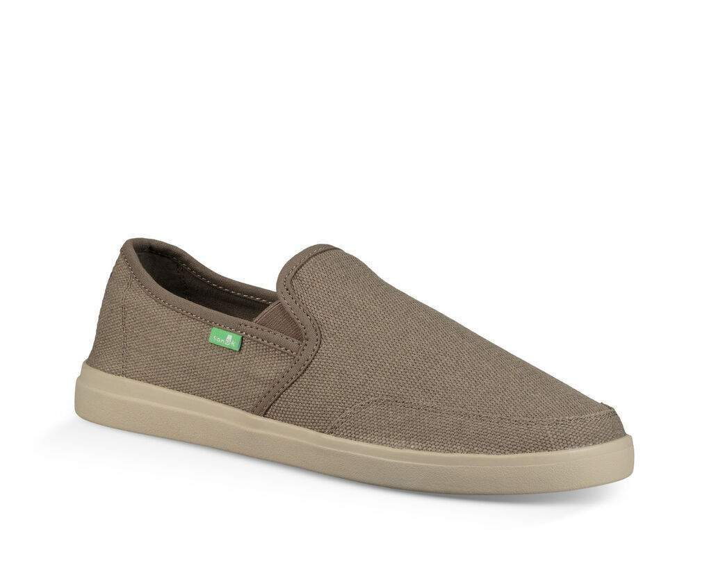 SANUK Men's Shoes Sanuk Vagabond Slip-On Wide || David's Clothing