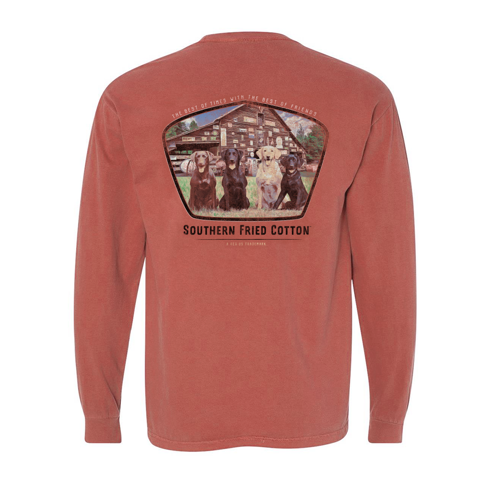 SOUTHERN FRIED COTTON Men's Tees Southern Fried Best Of Times - Long Sleeve || David's Clothing