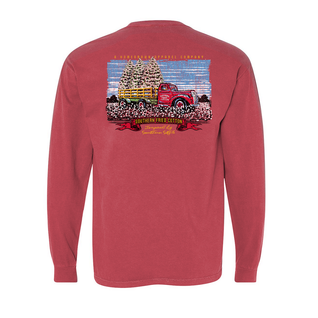 SOUTHERN FRIED COTTON Men's Tees Southern Fried Cotton Big Tree - Long Sleeve || David's Clothing