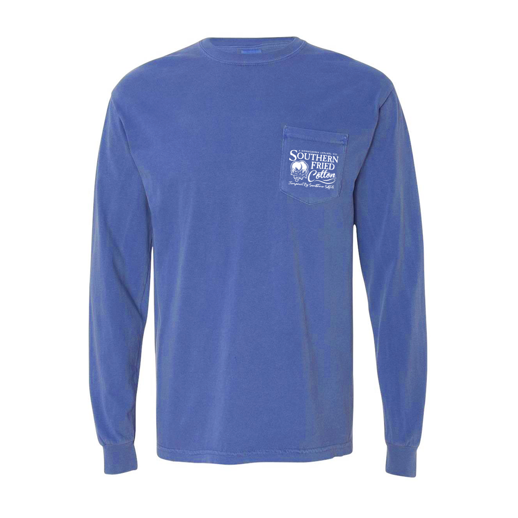 SOUTHERN FRIED COTTON Men's Tees Southern Fried Cotton Mountain Calling - Long Sleeve || David's Clothing